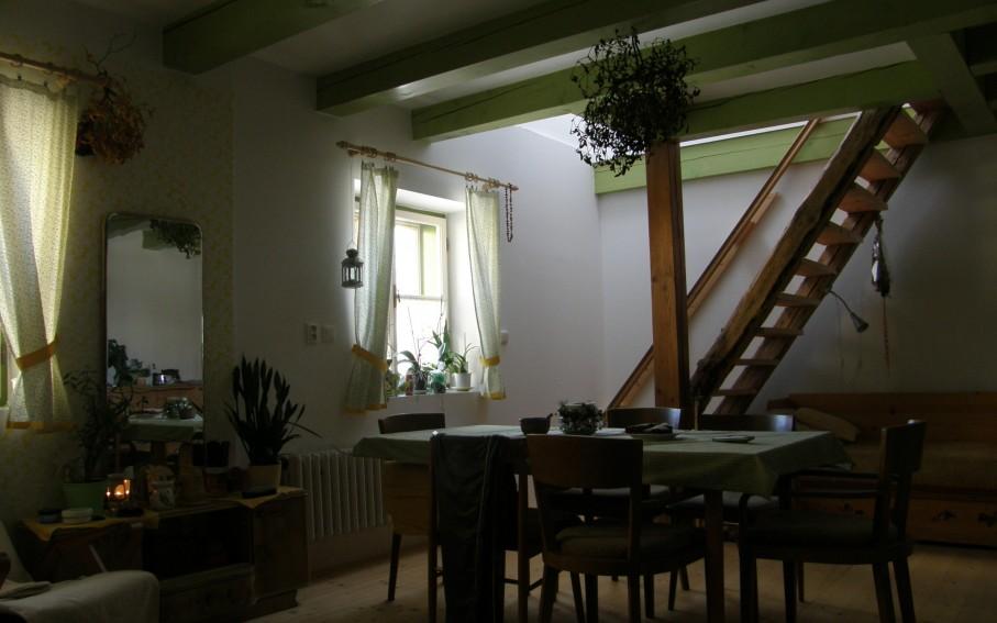 Interiér v přízemí - nový stav