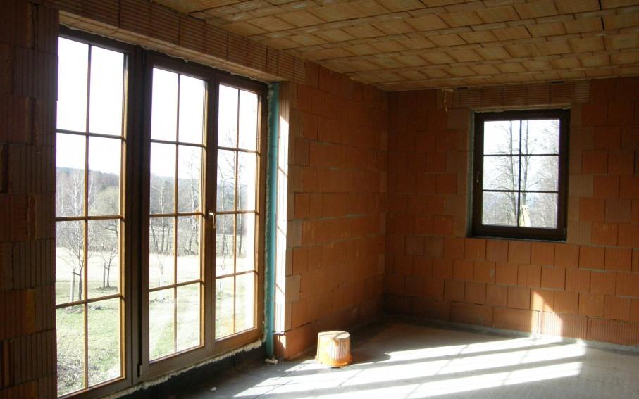 Interiér - obývací pokoj v přízemí