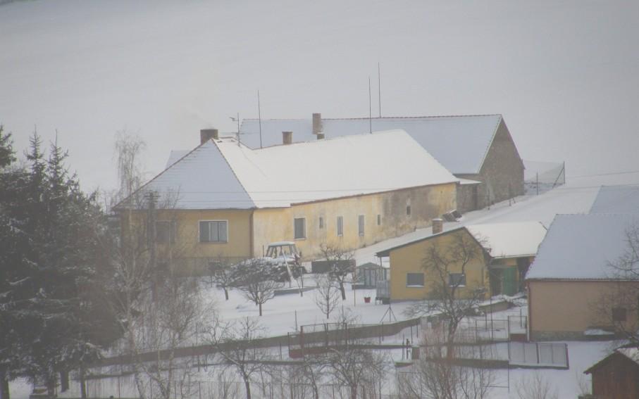 Severozápadní pohled - původní stav