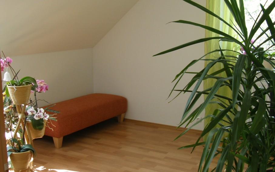 Interiér - pokoj ve druhém podlaží