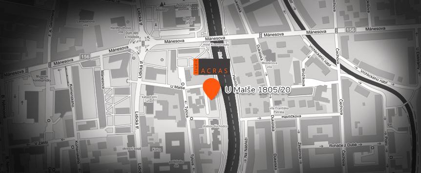 Mapa | ACRAS studio s.r.o.